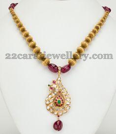 Cute peacock pendant