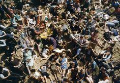 Blackpool beach, 1948