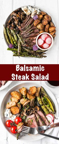 Balsamic Steak Salad