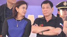 Duterte and Robredo in Tacloban Davao, First Language, Chief Of Staff, Words, Team Leader, Horse