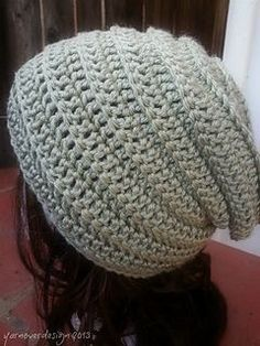 This hat was fun to make and for some reason I felt like I was breaking a crochet rule, lol.