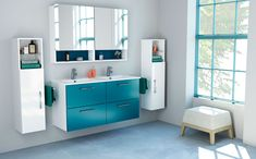 We have more than 25 years of experience in the bathroom furniture sector, providing affordable, high-quality products with the best design, to fit everyone s needs. Decorating On A Budget, Interior Decorating, Interior Design, Minimalist Bathroom Furniture, Home Decor Trends 2018, White Storage Cabinets, Feminine Decor, Cabinet Design, Bathroom Inspiration
