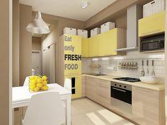 Mini Kitchen, Red Kitchen, Kitchen Sets, Kitchen Dinning, Living Room Kitchen, Kitchen Upgrades, Small House Design, Kitchenette, Kitchen Styling