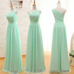 Custom Made Long Chiffon Bridesmaid Dress by BestBridalCollection