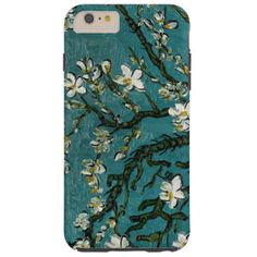 Branches of an Almond Tree in Blossom green Tough iPhone 6 Case. See pictures Summer Iphone Cases, Iphone 6 Covers, Best Iphone, Iphone 6 Plus Case, Apple Iphone 6, Iphone 4, Van Gogh, Branches, Almond