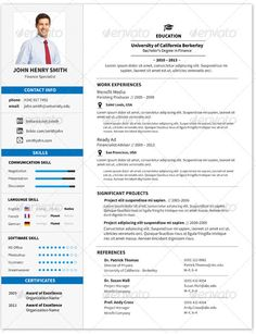 CV Estudiante | El Currículum Vitae CV | Pinterest | Ps