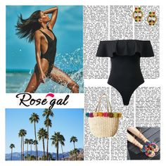 """""""Beach time"""" by antonija2807 ❤ liked on Polyvore featuring H&M and Chanel"""