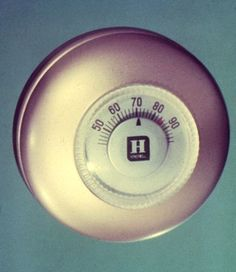 Honeywell Wall Thermostat - We had one just like it in our house.