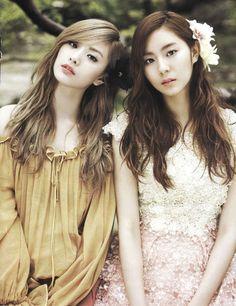 Uee and Nana - Vogue Girl - June'11