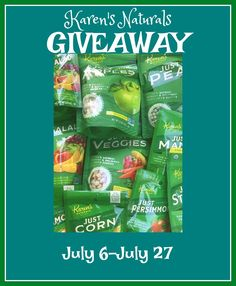 Karen's Naturals Has Fruits and Veggies for Every Bunny Plus GIVEAWAY #ad 7/27