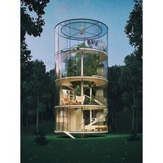LIKE this picture if you'd live in a tubular glass home, with a full grown tree inside ______________________________________________________ #design #designer #architecture #architect #architecturelovers #architecturephotography #archidaily #modernhouses #luxurious #houses #glamorous #house #luxury #luxuryhomes #symmetrykillers #archilovers #architectureporn #tree #treehouse #symmetry #instaart #instahome #instadaily #DownsGroup #DreamsInProgress #Freedom - posted by Russ & Erin…
