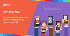 Data suggests that by 2016, Enterprise Apps are going to surpass Consumers Apps in popularity - and for obvious reasons really  Talk to us more about your organizational needs and we will provide you solutions through consistent, scalable and adaptable platforms.  Know more at http://www.capitalnumbers.com/enterprise_application_development.php