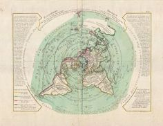 Flat Earth Map (1781)