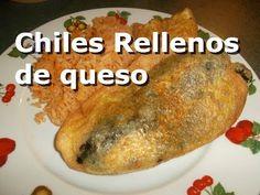 Chiles Rellenos - Authentic Mexican Recipe (Comida Mexicana) - YouTube