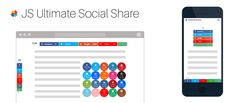JS Ultimate Social Share