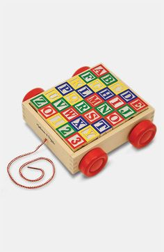 Melissa & Doug 'ABC' Block Cart available at #Nordstrom