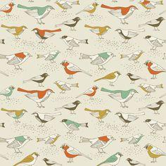 Song Sparrows   Removable Wallpaper   WallsNeedLove