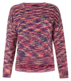 Rubee B Pink Rainbow Knitted Jumper