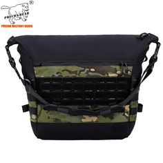 Military Messenger Bag, Molle System, Military Fashion, Laptop Bag, Camouflage, Cycling, Crossbody Bag, Backpacks, Edc