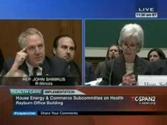 Congressman To Sebelius: This Is Like Talking To The Republic Of Korea ~ Pub on Dec 11, 2013 ~ Rep. John Shimkus (R-Il) questions Health and Human Services Secretary Kathleen Sebelius at a hearing of the House Energy and Commerce Committee on Health.