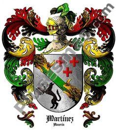 Escudo del apellido Martínez
