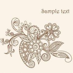 paisley flower tattoo - Поиск в Google