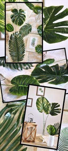 Kontynuujemy wiosenne dostawy. Po kwiatach i osłonkach doniczkowych przyszedł czas na sztuczne liście. Dostępne są różne wzory więc każdy wybierze coś odpowiedniego dla siebie. Plant Leaves, Plants, Plant, Planets