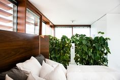 Installed atop a mid-century hotel in the heart of Graz, Berlin based architect Werner Aisslinger has fashioned holiday rental, The Graz Cube in Austria. Bedroom Retreat, Prefab, Modern Bedroom, Luxury Travel, Cube, Mid Century, Architecture, Places, Brand Identity