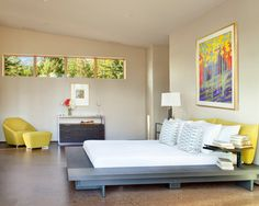 Cohen Residence - Contemporary - Bedroom - Other Metro - CTA Architects Engineers