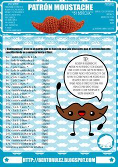 Patrones de amigurumis gratis paso a paso Crochet Gifts, Diy Crochet, Crochet Toys, Crochet Baby, Crochet Doll Pattern, Crochet Patterns, Amigurumi For Beginners, Amigurumi Tutorial, Amigurumi Doll