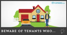 We've all heard the stories of nightmare tenants. With policies in place, it can help prevent some of these problems but there's always going to be issues that arise when you have a tenant in a rental property. We've broken these nightmare tenants into 6 categories.