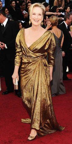 Meryl Streep by Lanvin