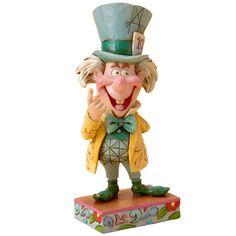 Figurine Disney Alice aux Pays des Merveilles Chapelier Fou