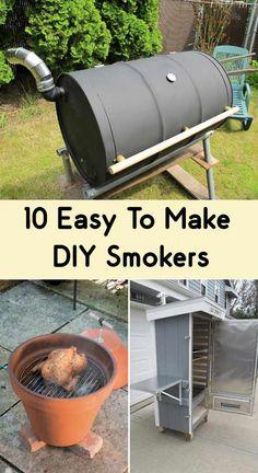 10 Easy To Make DIY Smokers
