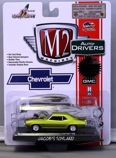 M2 Machines Auto-Drivers Rel 30 * 1969 Chevrolet Z/28 RS * Anti-Freeze -  #M2Machines #Chevrolet