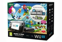 The lead up to Christmas is set to be an exciting time for fans looking for value and variety in their gaming as the new Wii U Mario & Luigi Premium Pack is now available at retailers. From today, the Wii U Mario & Luigi […] Super Mario Bros Luigi, Mario Und Luigi, Mario Bros., Nintendo Wii U Console, Nintendo Consoles, Consola Nintendo Wii, Playstation, Wii Accessories, Videogames
