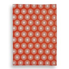 White & Orange Pom Pom Tea towel by Mr & Mrs Clynk. A fabulous, vibrant cotton tea towel designed by the infinitely talented Mr & Mrs Clynk. Bringing a bright splash of colour and stylish design to your kitchen. £6.99