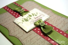 i love the use of the ribbon here..