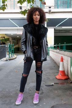 Street fashion: modelki off duty