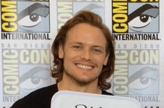 <b>Sam Heughan and Caitriona Balfe, the leads in Starz's new drama based on the best-selling books, on first impressions, sexual chemistry, and rug burns.</b>