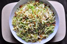 Leslie's Peanut Slaw, a recipe on Food52 To make plant strong replace the oil with water