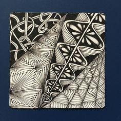 #zentangle #art #ゼンタングル #イラスト
