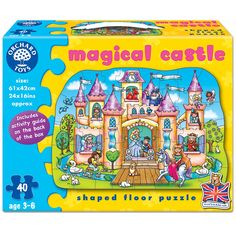Orchard Toys Magical Castle Jigsaw is ideal for little kids who love princesses!