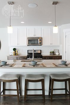 Model Home White Kitchen model home in san antonio texas, coronado community | dream home