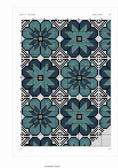 Cross Stitch Art, Cross Stitch Flowers, Cross Stitch Designs, Cross Stitch Embroidery, Hand Embroidery, Crochet Chart, Crochet Patterns, Palestinian Embroidery, Crochet Tablecloth