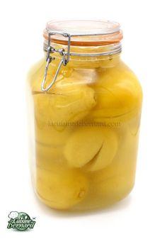 La Cuisine de Bernard : Citrons confits au sel Chutney, Hamburger Au Foie Gras, Pesto Sauce, Salad Sandwich, Pickles, Cucumber, Side Dishes, Food Porn, Brunch