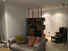 Customized bar oak sofa Baxter