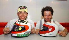 Valentino and Graziano Rossi <3 <3 <3