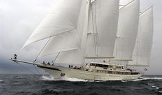 athena yacht | Jim Clark's other boat, Athena, is one of the largest sailing yachts ...