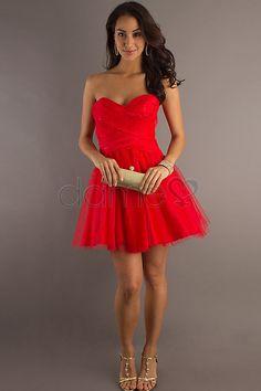 Taft Herz-Ausschnitt Tüll glamouröses & dramatisches ärmelloses kurzes informelles & legeres Homecoming Kleid